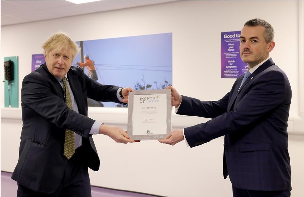 Boris Johnson official photograph